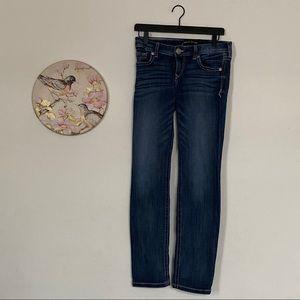 Express Stella Low Rise Skinny Jeans